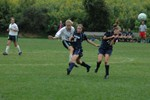 Highlight for Album: STJ Varsity Girls Soccer vs. Burlington - 8/31/05