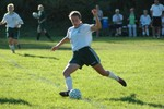 Highlight for Album: STJ Varsity Girls Soccer vs. Northfield - 9/21/05