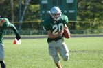 Highlight for Album: STJ Varsity Football vs. South Burlington - 10/1/05
